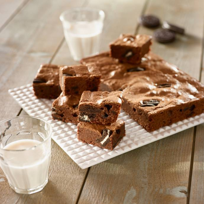 Brownies double chocolat