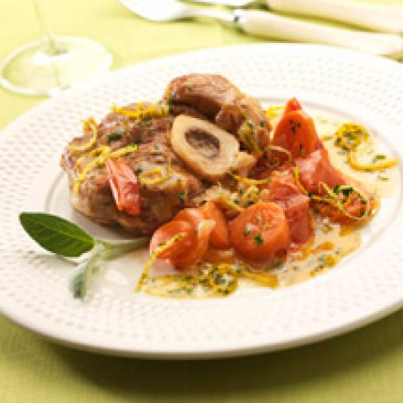 Osso bucco aux agrumes
